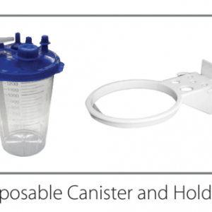 Suction Canister – Autoclavable Canister Holder, 1300CC