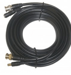 Electronic Cable – BNC CABLE RG59-CCTV POWER 75FT BLACK