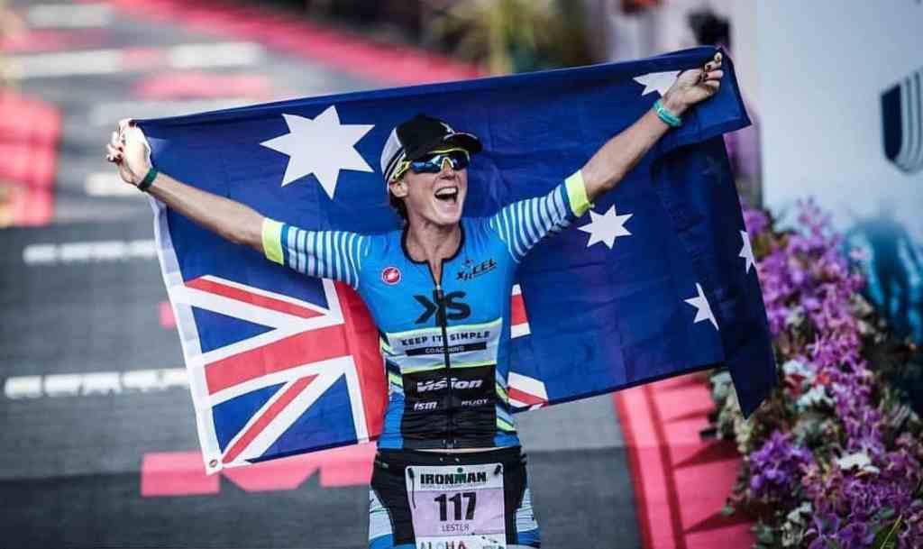 Die Ironman-Mont-Tremblant-Siegerin