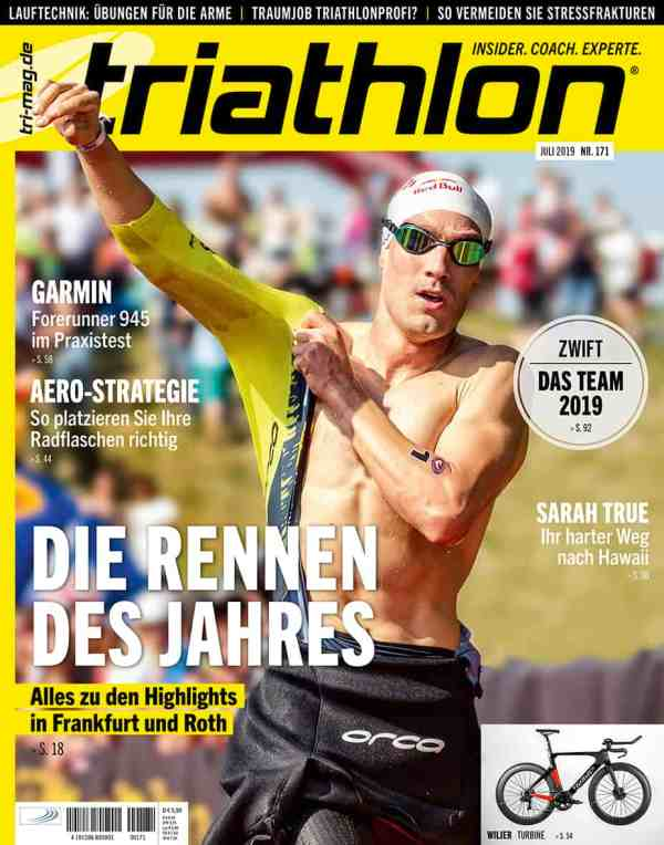 triathlon 171: Juli 2019