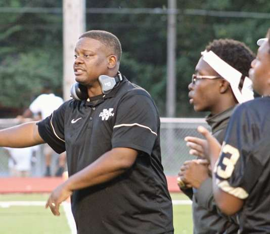 """Tigers head coach Rodney Saulsberry says, """"Games don't happen on paper. You have to perform and get it done in live action."""" (Photo: Terry Davis)"""