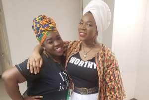 Dalisia Brye (left) and India.Arie