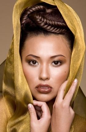 Свадебный макияж прическа - воронеж салон красоты стилист ...