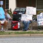 Hunger strikers want Congressman Coble's help