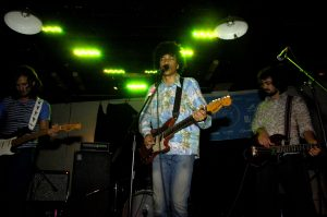 Boogarins from Brazil played Phuzz Phest after an appearance at South by South West