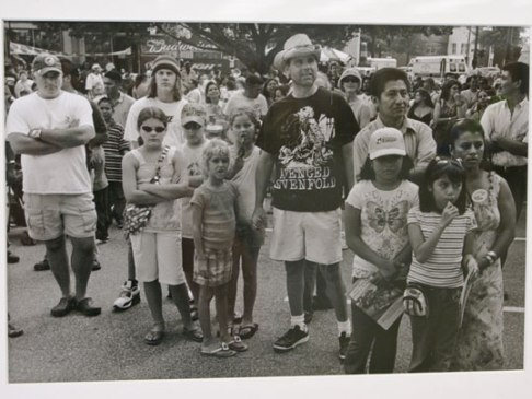 A photo from a Latino street festival in Winston-Salem