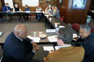 The monthly board meeting last week