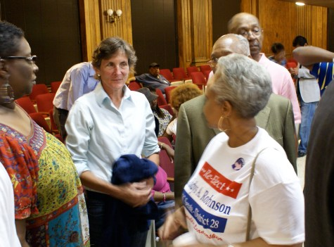 Rep. Pricey Harrison and Sen. Gladys Robinson both prevailed against challengers.