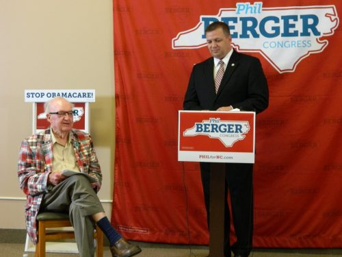 US Rep. Howard Coble endorsed Phil Berger Jr. for the 6th Congressional District seat he is vacating.
