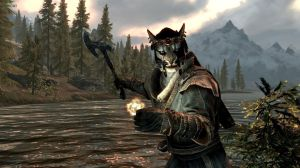 The Khajiit, a race of cat people in the world of Skyrim, a 3-year-old video game, are just as compelling as anything coming out of Hollywood this summer.