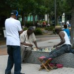 PHOTO: A chess game at the park