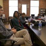 TCB editors speak to Bennett College class