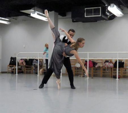 dracula rehearsals 6