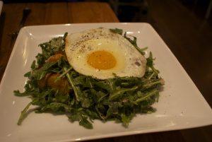 "The ""favorite"" arugula salad"