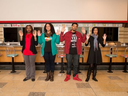 The struggle that started at the Woolworth's lunch counter in Greensboro continues today, with a new generation of activists who use technology to spread the message in a new era of civil rights.