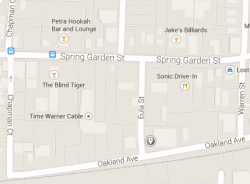 Image via Google Maps. Mansfield Brewery will be at the corner of Eula Street and Oakland Avenue.