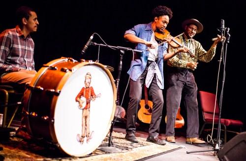 Dom Flemons trio