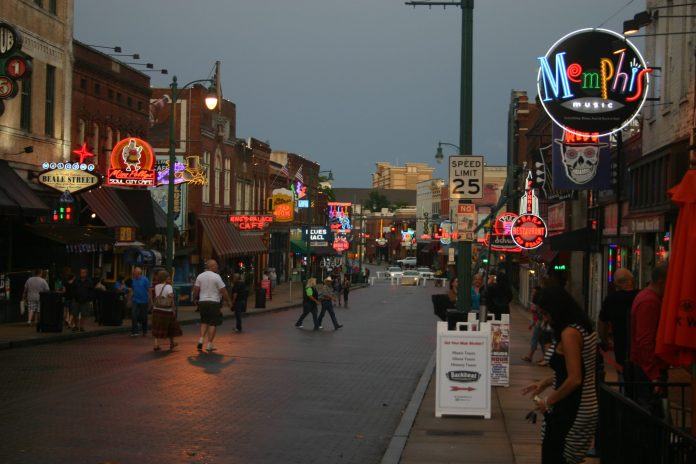 Beale Street is for tourists, which we don't really have around here.