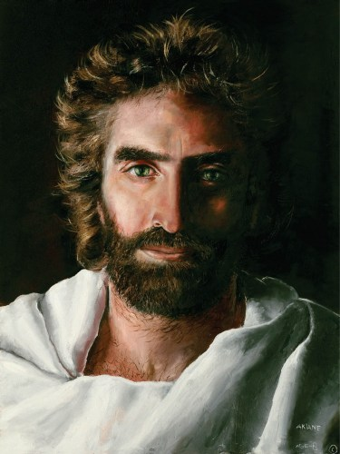 "On Jorge's wishlist: a print of ""Prince of Peace"" by Akiane Kramarik."