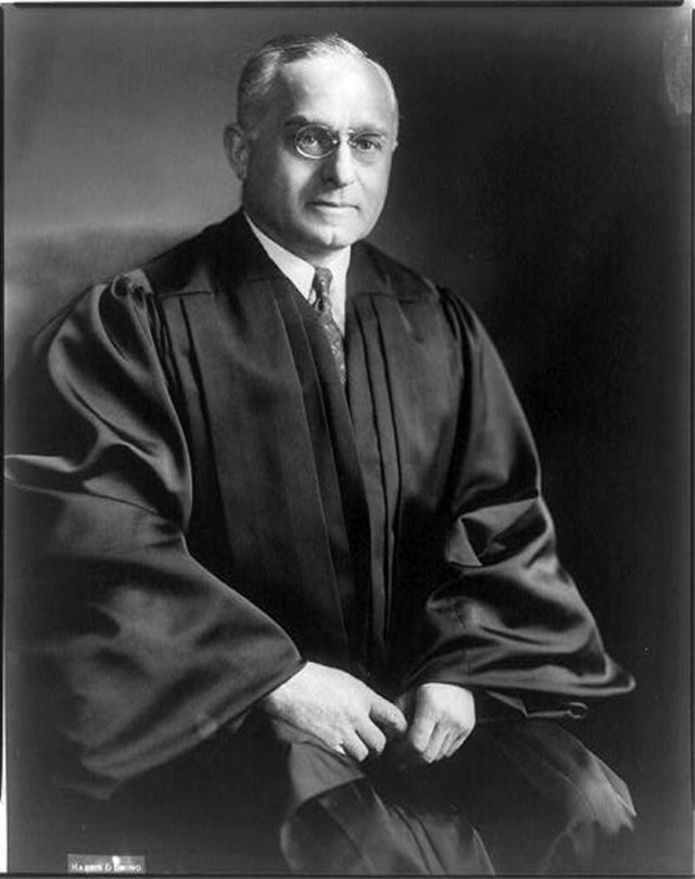 Supreme Court Justice Felix Frankfurter may have had a cartoon name, but he was a pretty serious guy.