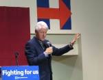 Bill Clinton stumps for Hillary in Greensboro