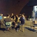 Night Passage creates intimate space for literature