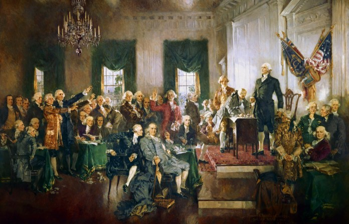 They covered a lot of ground, but our Founding Fathers didn't mention immigration, primary elections, political parties or even Jesus in the US Constitution.