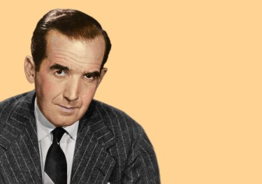 The famed journalist Edward R. Murrow spent his first six years in the Greensboro area, but now that we need him there's not a trace of him to be seen.