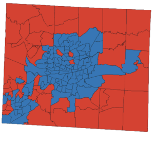 Guilford County electoral map, 2016