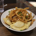 My pierogi-tive for going to Cin Cin Burger Bar