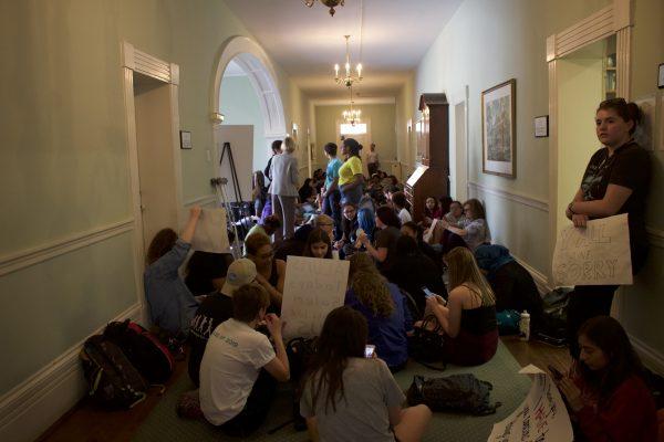 salem college protest