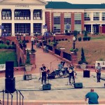 Laney Jones serenades crowd at High Point University