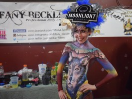 Taylor-ridge-tiffany-beckler-body-paint-painting-corner-bar-greensboro