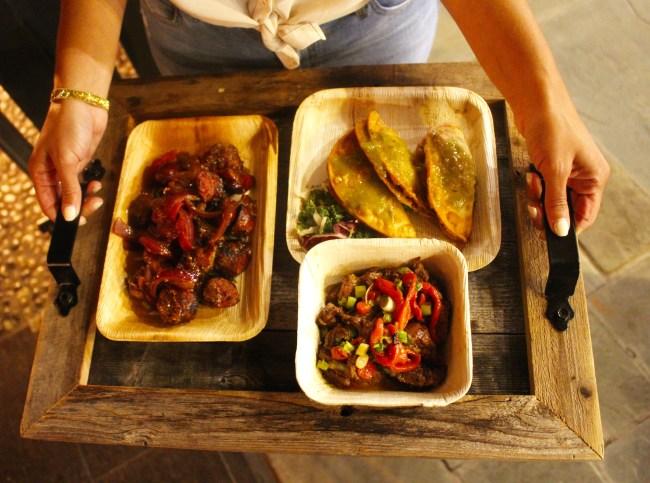 a-tray-of-food-at-vintage-sofa-bar