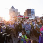 Editor's Notebook: Second line with the Tremé Brass Band at the National Folk Fest