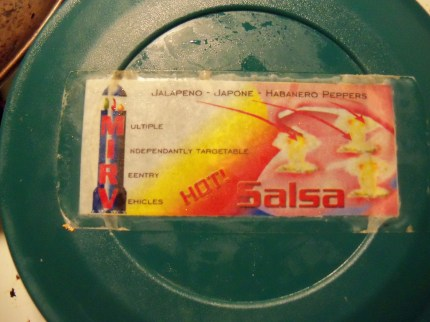 One of the first labels where I had no digital file anymore. Good thing the color laser jet where I was working at the time made such a nice long lasting print :)