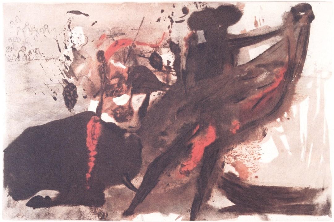 Bullfight - Salvador Dali