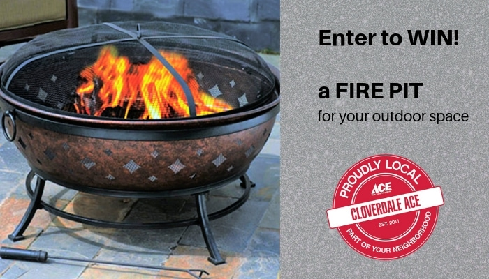 Win a Fire Pit from Cloverdale Ace Hardware | Triad Moms ... on Ace Hardware Fire Pit  id=39149