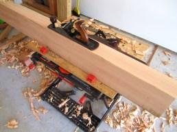 planing top beam