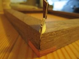 wedge frame gaps