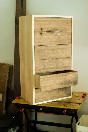 carcass with drawers test fit