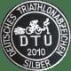 In meiner ersten Saison hatte ich bereits so viel Spaß am Triathlon, dass ich nach 2 Sprint-, 3 Kurz- und 2 Mitteldistanzen schließlich das Triathlonabzeichen in Silber bekam.