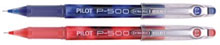 (2) 99¢ Pilot P-500 pens (one red, one blue)