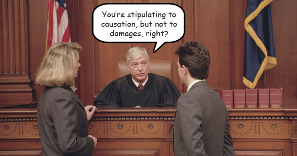 When you stipulate to uncontested issues, you raise your credibility and streamline your case.