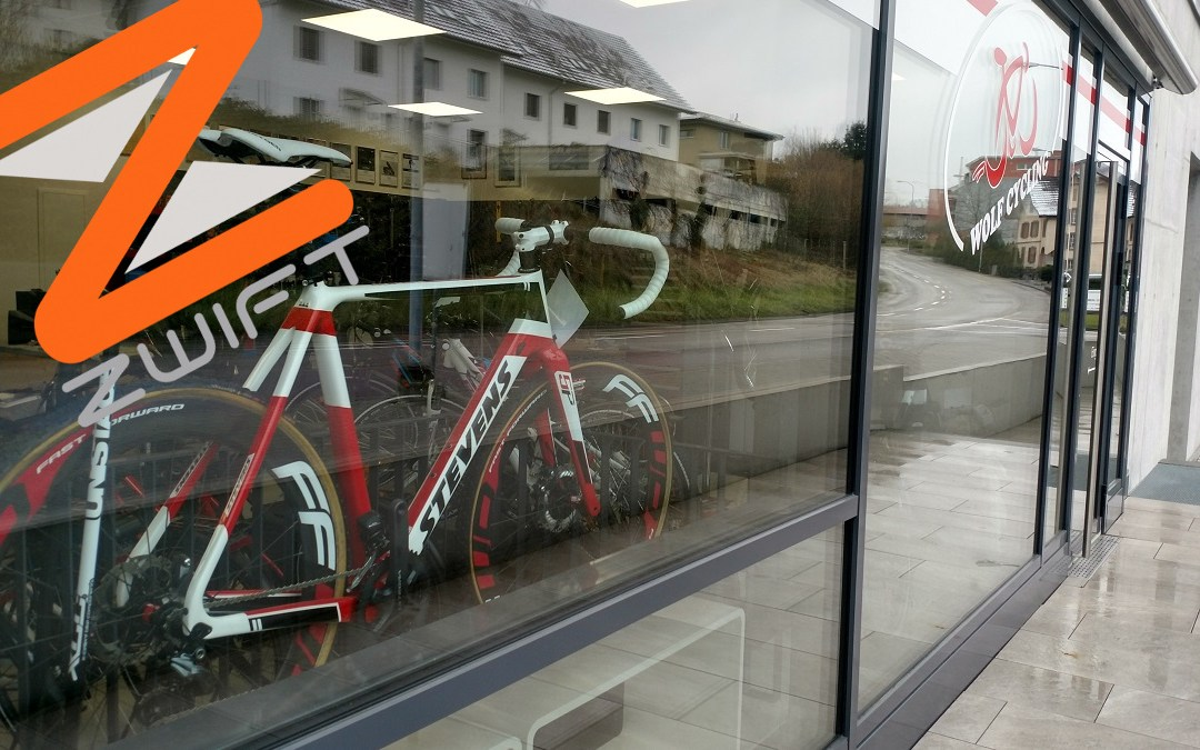 Zwift-Event mit Wolf Cycling