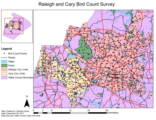Raleigh_and_Cary_Bird_Count_Survey