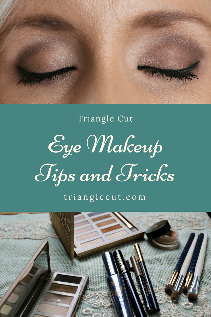 Eye Makeup Favorites Application Tips And Tricks Triangle Cut