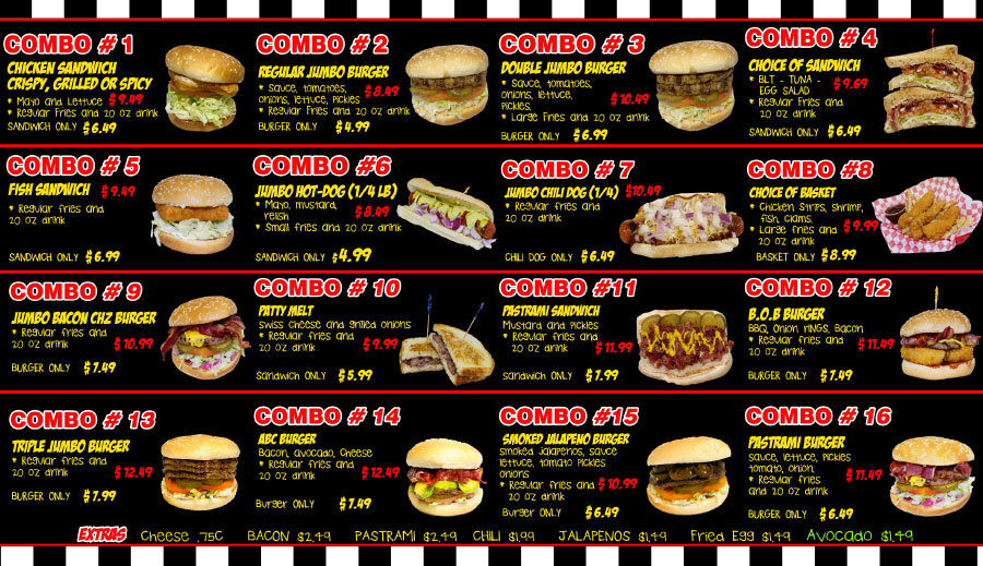 Triangle Drive In Menu