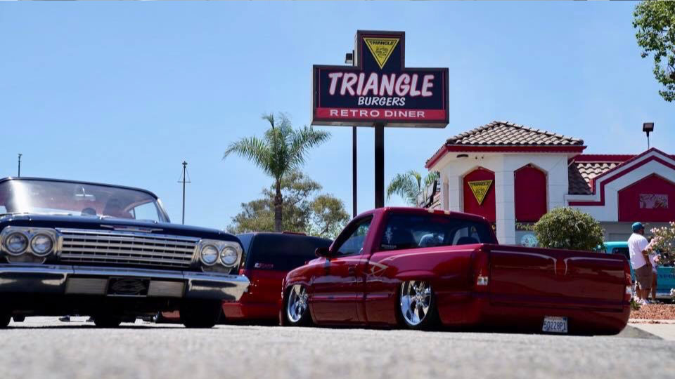 Triangle Drive In's Retro Diner Classic Car Show