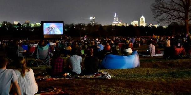 movies by moonlight dix park raleigh nc